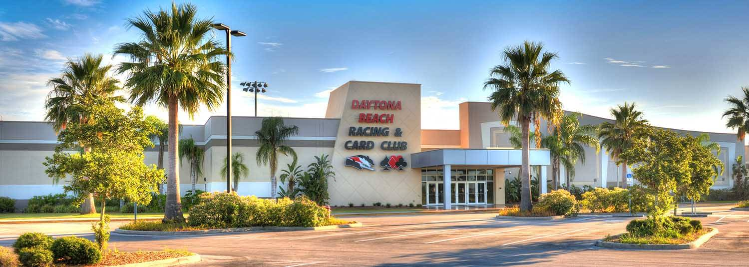 Daytona Beach Racing & Card Club entrance