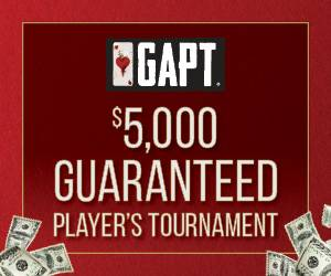GAPT $5,000 Guaranteed Player's Tournament