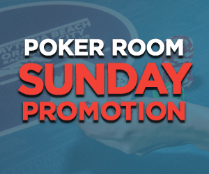 Poker Room Sunday Promotions